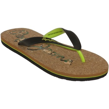 Chaussures Homme Tongs Pepe jeans Hawi cork Noir
