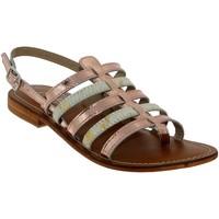 Chaussures Femme Sandales et Nu-pieds L'atelier Tropezien IL550 Rose pale cuir
