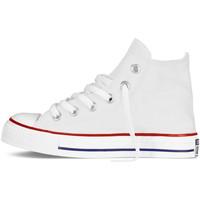 Chaussures Garçon Baskets montantes Converse Basket  CT Blanc