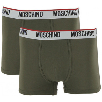 Sous-vêtements Homme Boxers Love Moschino Pack 2 boxers Vert