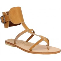 Chaussures Femme Sandales et Nu-pieds Spartiates Phoceennes Alicia cuir Femme Naturel Naturel