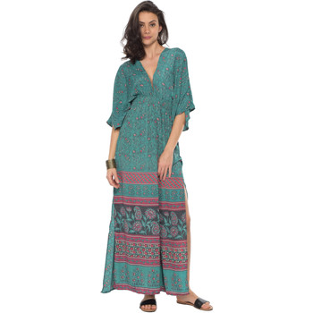 Vêtements Femme Robes Couleurs Du Monde Robe ANAIS Femme Collection Printemps Eté Vert