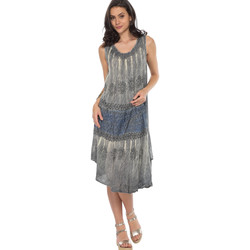 Vêtements Femme Robes courtes Couleurs Du Monde Robe LAURA Femme Collection Printemps Eté Gris
