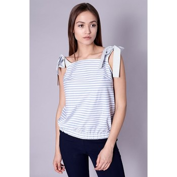 Vêtements Femme Tops / Blouses Click Fashion Blouse model 98869 Kék