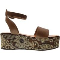 Chaussures Femme Sandales et Nu-pieds Cris Vergre'  Marrone