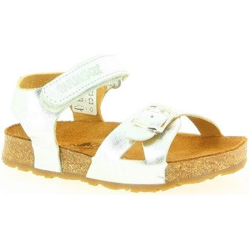 Chaussures Fille Sandales et Nu-pieds Haflinger 819047 argent