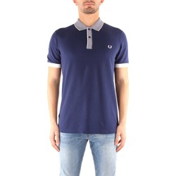 Vêtements Homme T-shirts manches courtes Fred Perry M3556 T-shirt Homme RICH NAVY RICH NAVY