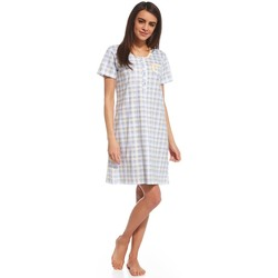 Vêtements Femme Pyjamas / Chemises de nuit Cornette Nightshirt model 114879 Sárga