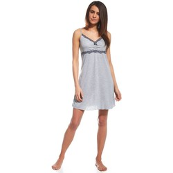 Vêtements Femme Pyjamas / Chemises de nuit Cornette Nightshirt model 114886 Gris