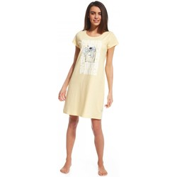 Vêtements Femme Pyjamas / Chemises de nuit Cornette Nightshirt model 110837 Sárga