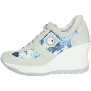 Chaussures Femme Baskets montantes Agile By Ruco Line Agile By Rucoline  1800(68-A) Haute Sneakers Femme Gris glace Gris glace