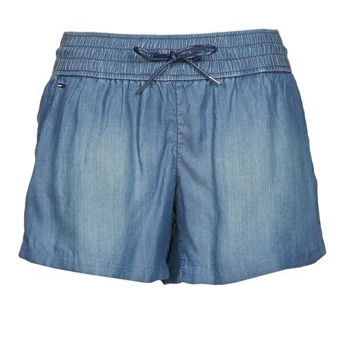 Vêtements Femme Shorts / Bermudas Hilfiger Denim TINA Bleu