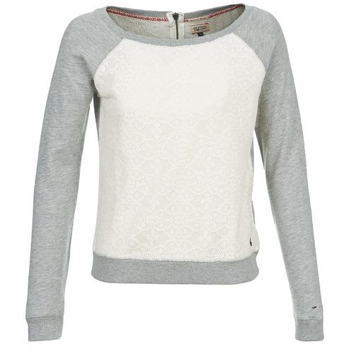 Vêtements Femme Sweats Hilfiger Denim SABRINA Gris