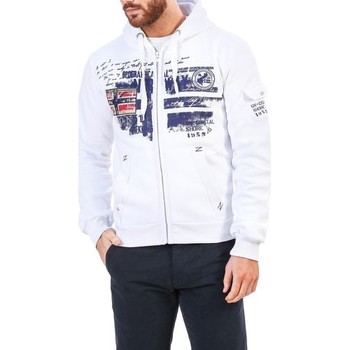 Vêtements Sweats Geographical Norway - Fohnson_man blanc