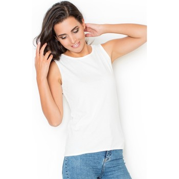 Vêtements Femme Tops / Blouses Katrus Top model 48338 Fehér