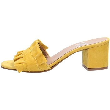 Chaussures Femme Sandales et Nu-pieds Helen 100 Sandales Femme Yellow Yellow