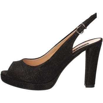 Chaussures Femme Sandales et Nu-pieds Silvana 452 Sandales Femme Noir Noir