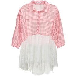 Vêtements Femme Chemises / Chemisiers Brigitte Bardot AMBRE Rouge / Blanc