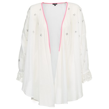 Vêtements Femme Gilets / Cardigans Brigitte Bardot APOLLINE Blanc