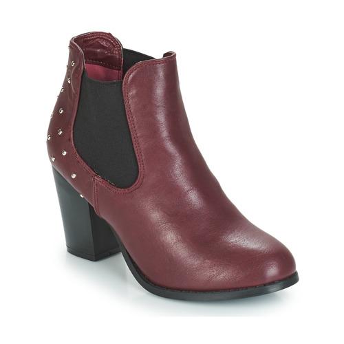 Chaussures Femme Bottines Moony Mood JURDEAN Bordeaux
