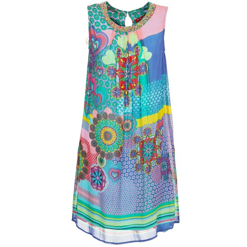 Robes Derhy BARDE Bleu / Vert / Multicolore 350x350