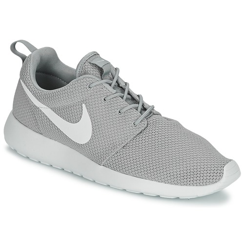 outlet store f07fc 35f7b Chaussures Homme Baskets basses Nike ROSHE ONE Gris   Blanc