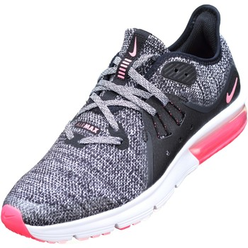 Chaussures Fille Baskets basses Nike Air Max Sequent 3 Gs Noir