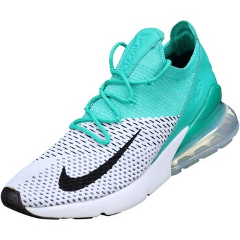 Chaussures Femme Baskets basses Nike W Air Max 270 Flyknit Blanc