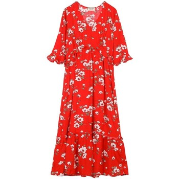 Vêtements Femme Robes Cherry Paris Robe Ootha Rouge