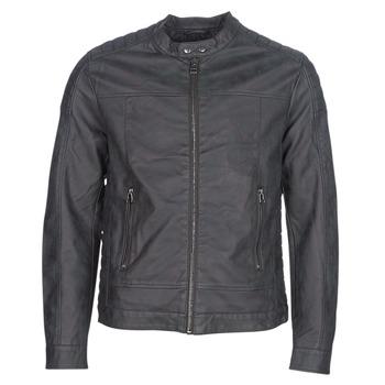Vêtements Homme Vestes en cuir / synthétiques Esprit VENI Noir