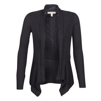 Vêtements Femme Gilets / Cardigans Esprit RIB CARDI Noir