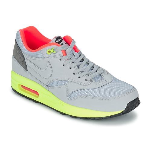 Baskets mode Nike AIR MAX 1 FB Gris / Vert / Corail 350x350