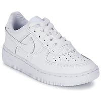 Chaussures Enfant Baskets basses Nike AIR FORCE 1 Blanc