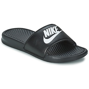 Chaussures Homme Baskets basses Nike BENASSI JUST DO IT Noir