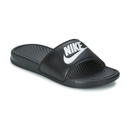 nike benassi just do it noir livraison gratuite avec chaussures claquettes. Black Bedroom Furniture Sets. Home Design Ideas