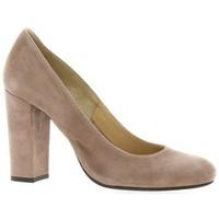 Chaussures Femme Escarpins Vidi Studio Escarpins cuir velours Poudré
