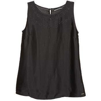 Vêtements Femme Débardeurs / T-shirts sans manche La City LUCRETIA Noir