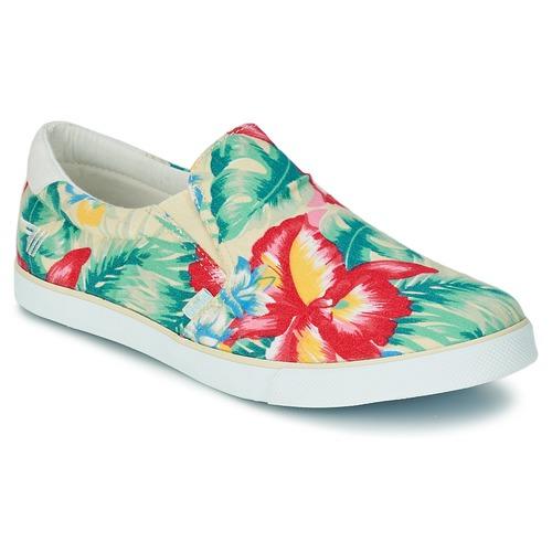 Chaussures Femme Slips on Gola DELTA HIBISCUS Ecru / Multicolore