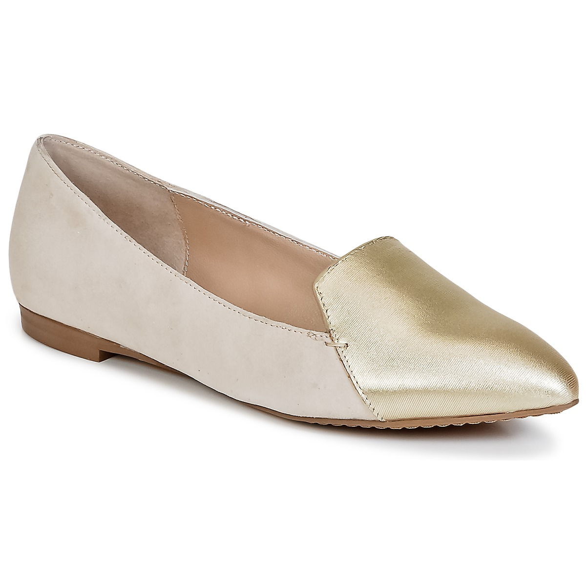 Mocassins French Connection GALINA Or / Rose