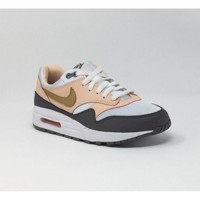 Chaussures Homme Baskets basses Nike AIR MAX 1 ROSE/BLANC rose
