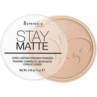 Beauté Femme Blush & poudres Rimmel London Stay Matte Pressed Powder 005-silky Beige 14 Gr 14 g