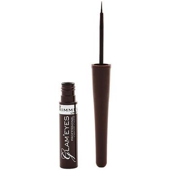 Beauté Femme Crayons yeux Rimmel London Glam'Eyes Professional Liquid Eye Liner 002 -brown 3,5 ml