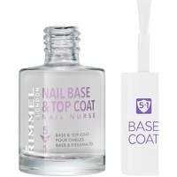 Beauté Femme Vernis à ongles Rimmel London Nail Nurse Care Base & Top Coat 5en1  12 ml
