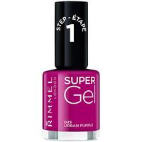 Beauté Femme Vernis à ongles Rimmel London Kate Super Gel Nail Polish 025-urban Purple