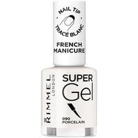 Beauté Femme Vernis à ongles Rimmel London French Manicure Super Gel 090-porcelain 12 ml
