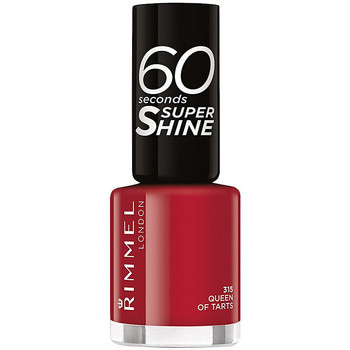 Beauté Femme Vernis à ongles Rimmel London 60 Seconds Super Shine 315-queen Of Tarts 8 ml