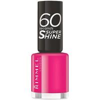 Beauté Femme Vernis à ongles Rimmel London 60 Seconds Super Shine 323-funtime Fuchsia 8 ml