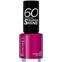 Beauté Femme Vernis à ongles Rimmel London 60 Seconds Super Shine 335-gimme Some Of That 8 ml