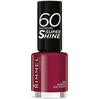 Beauté Femme Vernis à ongles Rimmel London 60 Seconds Super Shine 340-berries And Cream 8 ml