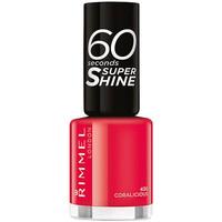 Beauté Femme Vernis à ongles Rimmel London 60 Seconds Super Shine 430-coralicious